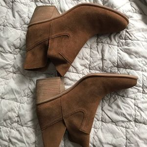 BP suede ankle boots size 8.5